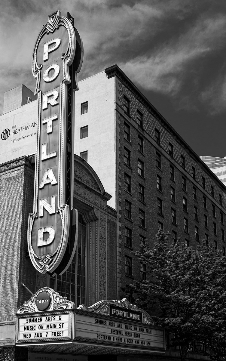 Downtown's Portland Theatre