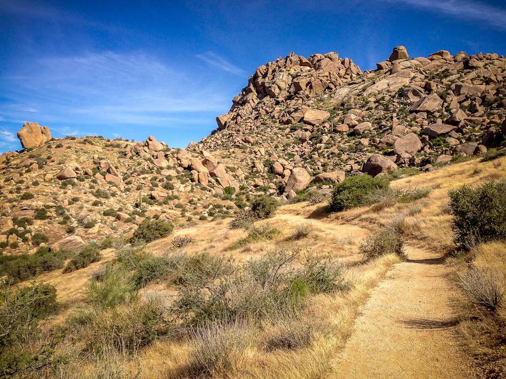 The boulder maze