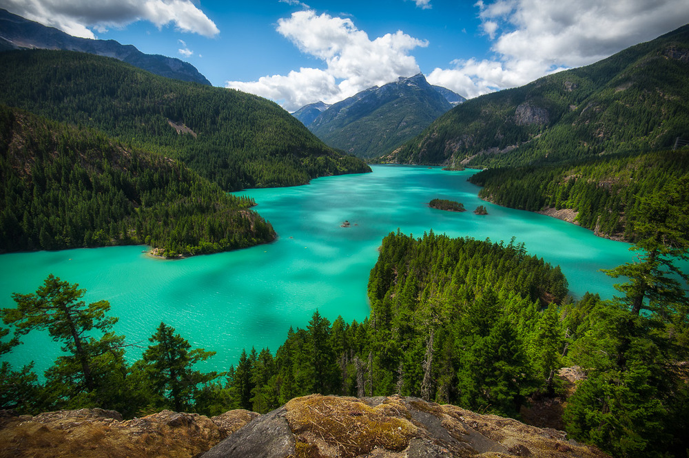Diablo Lake Overlook, North Cascades National Park