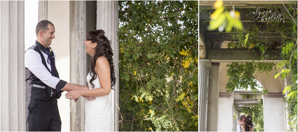 kansas city wedding photographer first look
