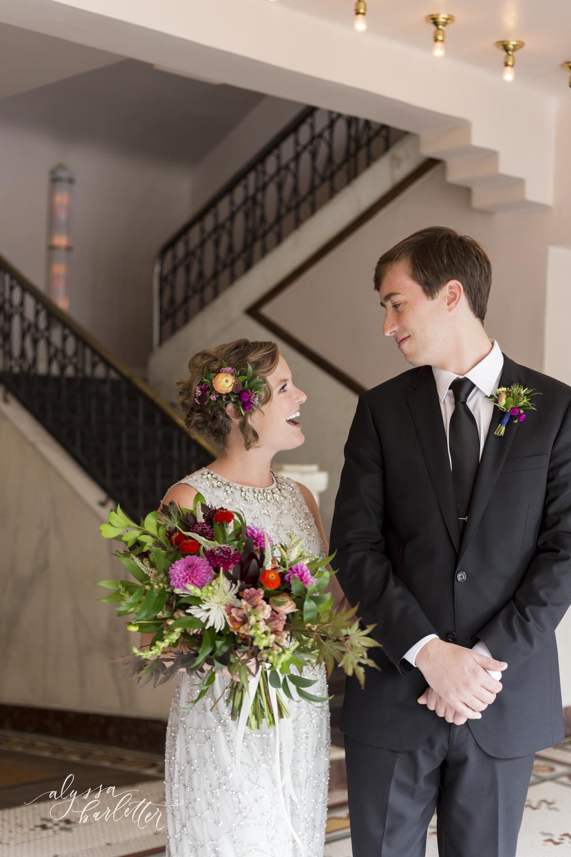lawrence kansas wedding photographer first look