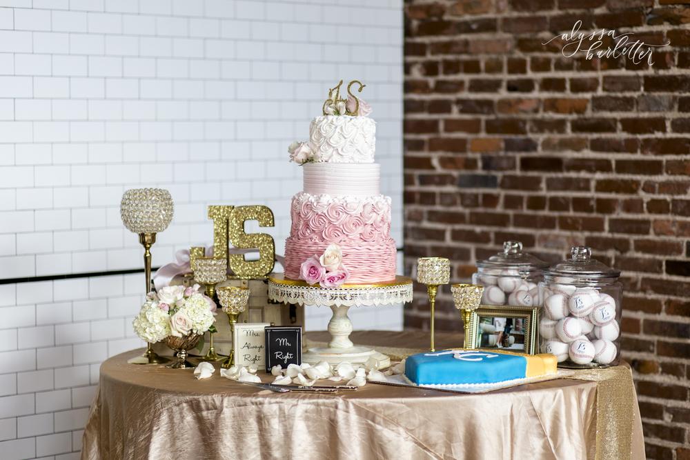 Wedding Cakes Kansas City The Guild Brick Wall