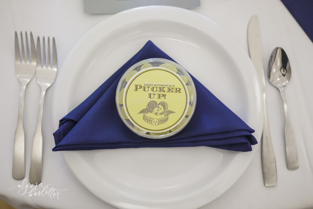 kansas city lds temple wedding reception place setting