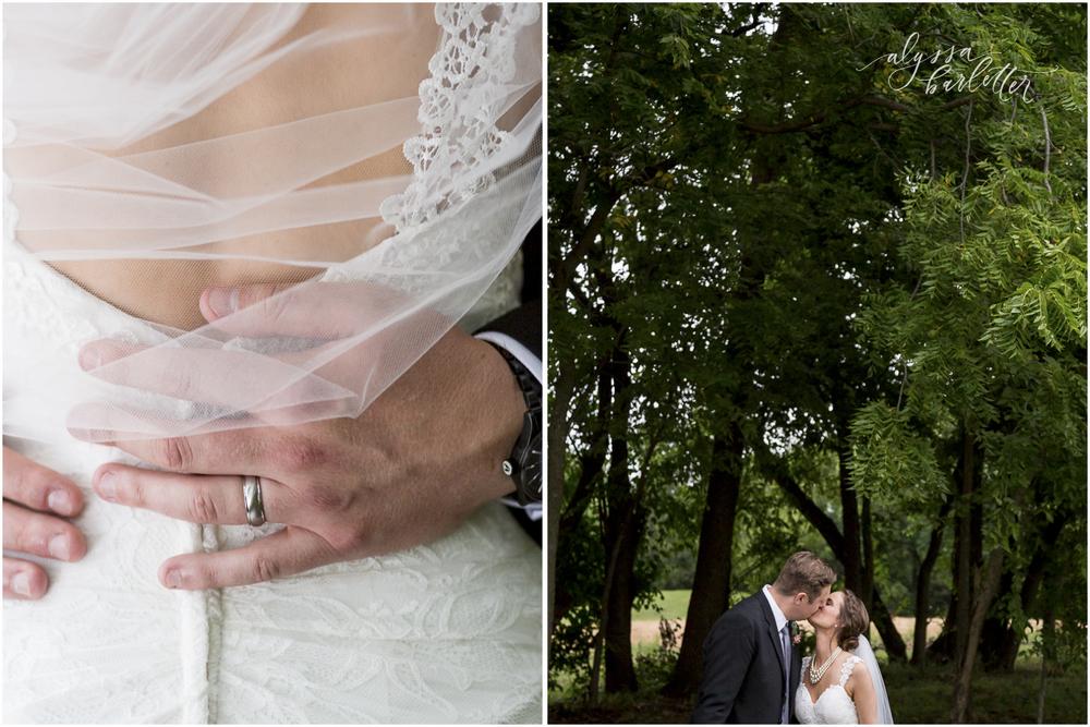 kansas city wedding budget mahaffie bride groom portraits ring veil