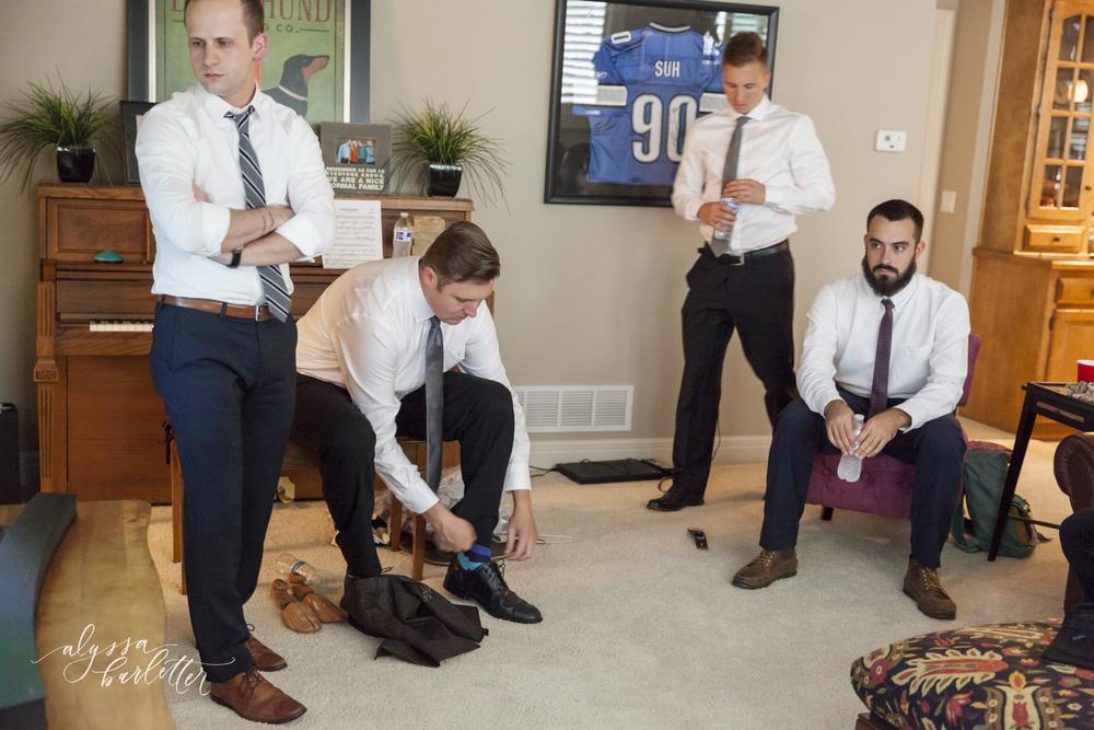 kansas city wedding budget getting ready groom groomsmen