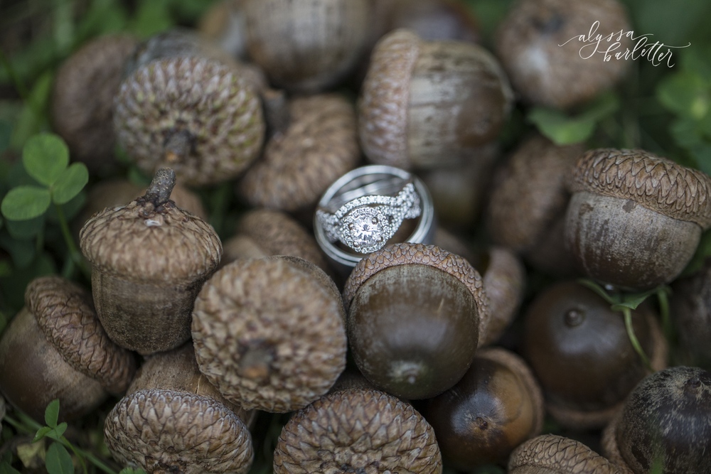 kansas city wedding photography engagement ring