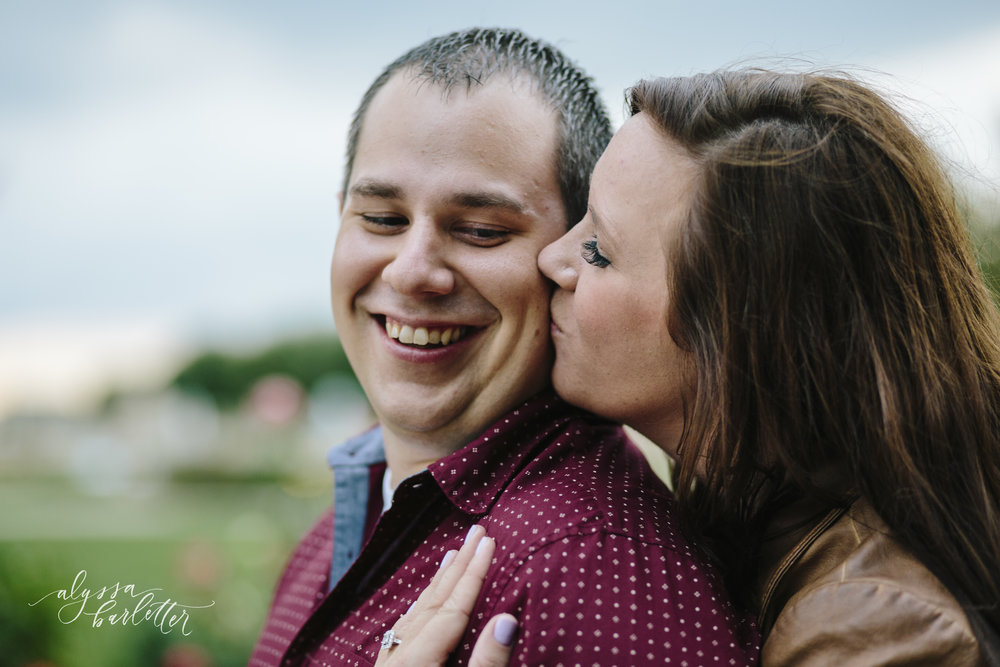 kansas city wedding photographer lees summit unity village engagement