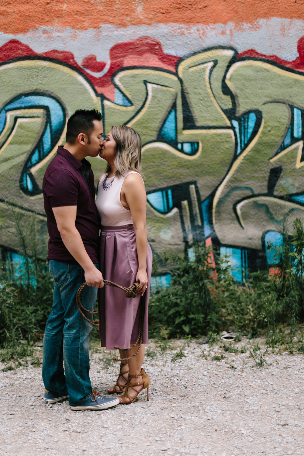 alyssa barletter photography loose park west bottoms engagement session dogs-11.jpg