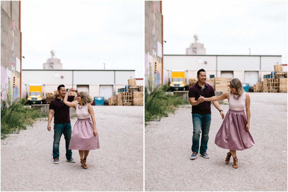 alyssa barletter photography loose park west bottoms engagement session dogs-14.jpg