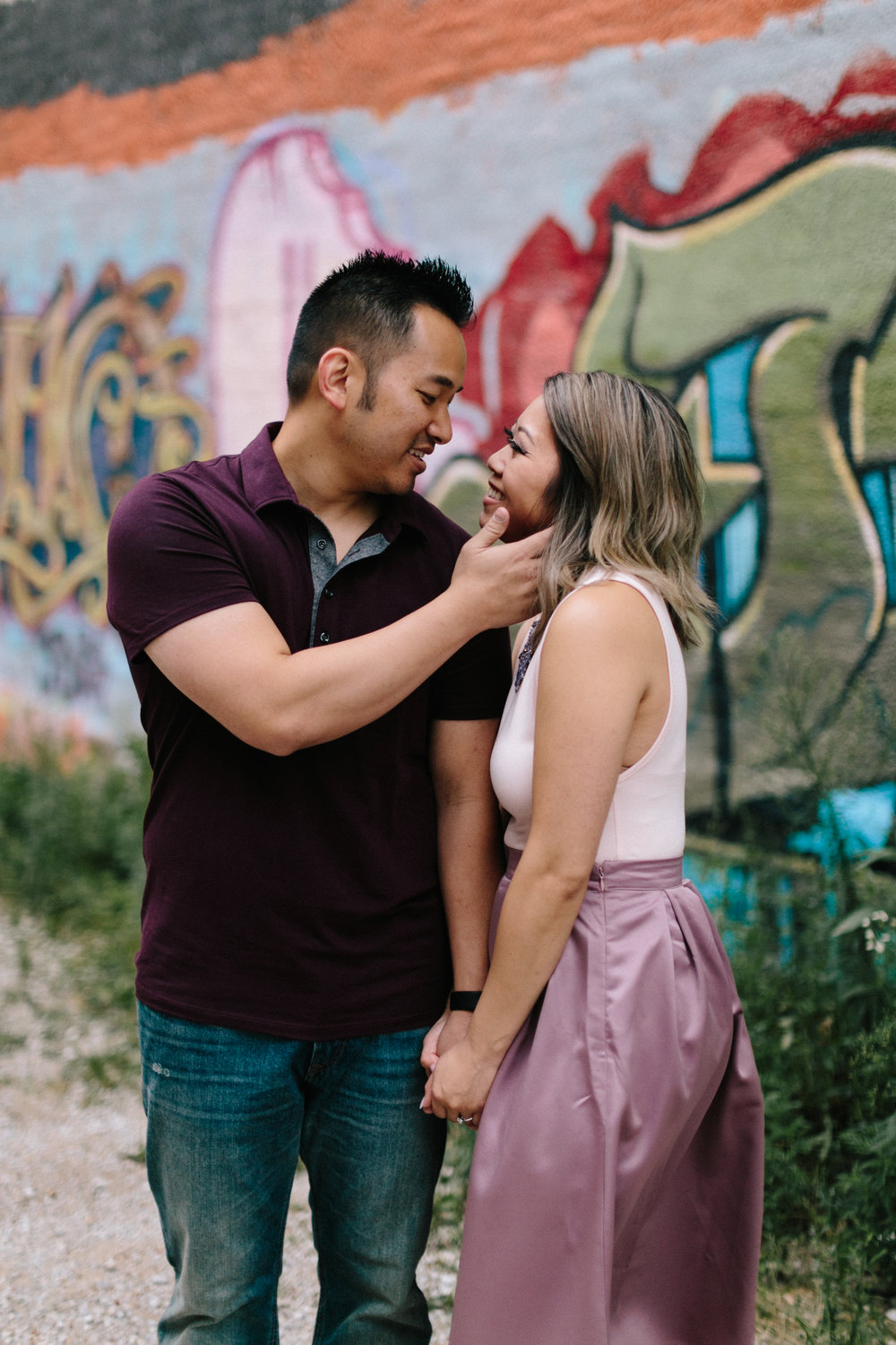 alyssa barletter photography loose park west bottoms engagement session dogs-13.jpg