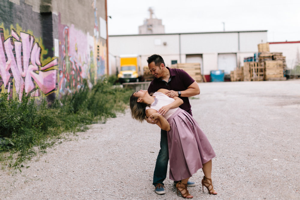 alyssa barletter photography loose park west bottoms engagement session dogs-15.jpg