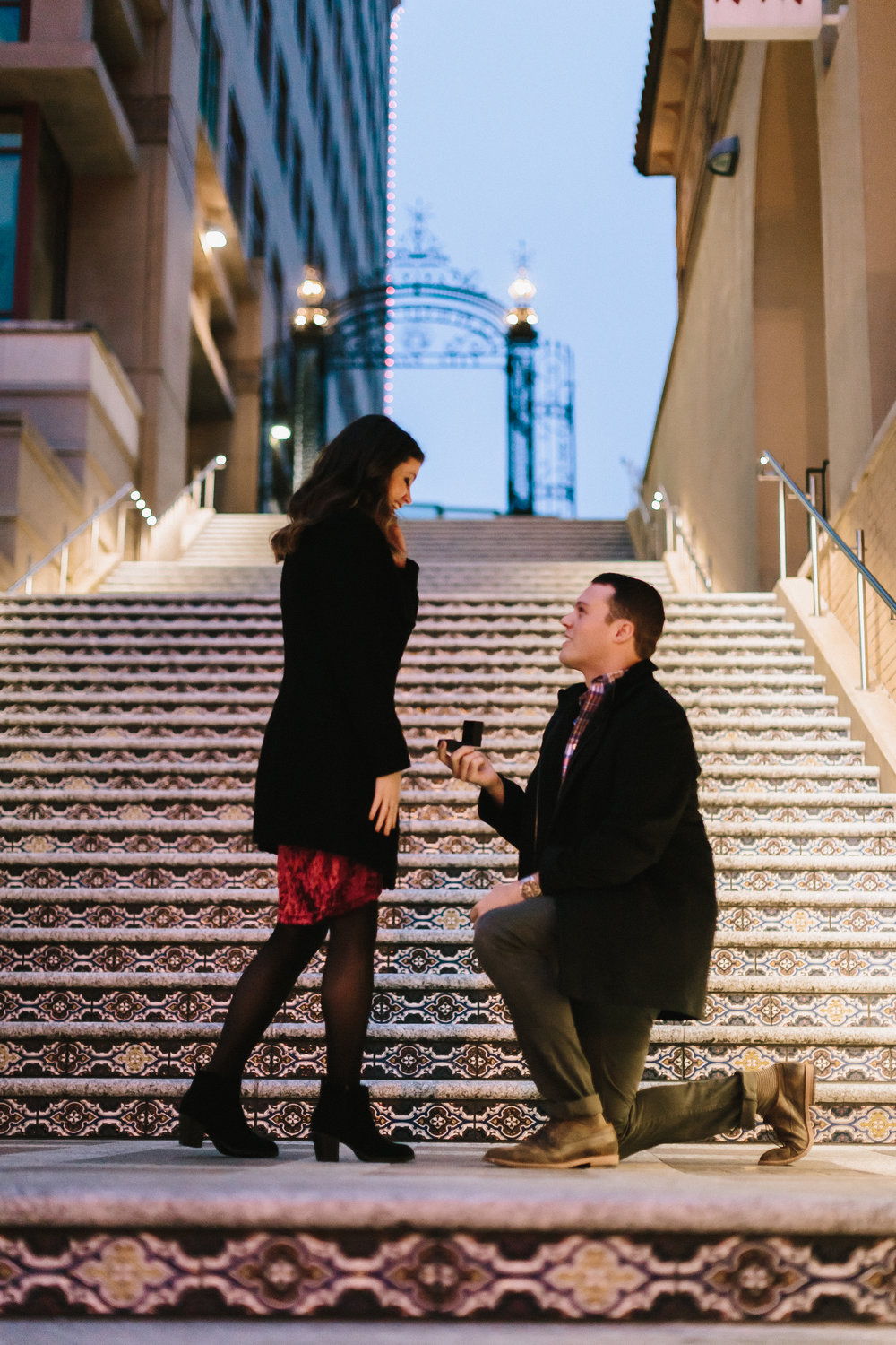 alyssa barletter photography christmas winter wedding proposal plaza lights plaza stairs she said yes-2.jpg