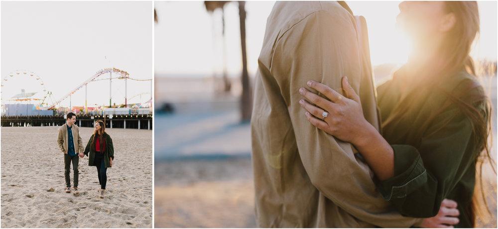 alyssa barletter photography santa monica pier engagement photographer sunset photos-14.jpg