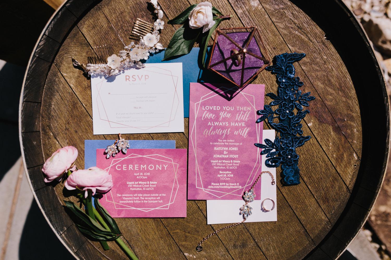 Kaitlynn and Jon<br>Warm Spring Wedding in MHK — Alyssa Barletter ...