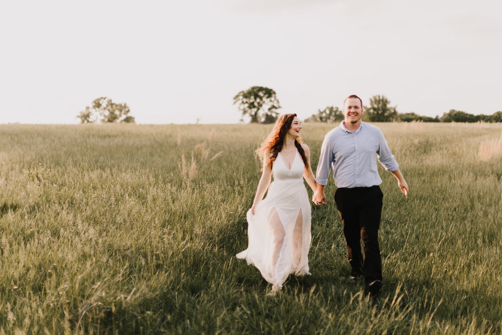 alyssa barletter photography summer shawnee mission park engagement session long maxi dress outfit chapman-7.jpg