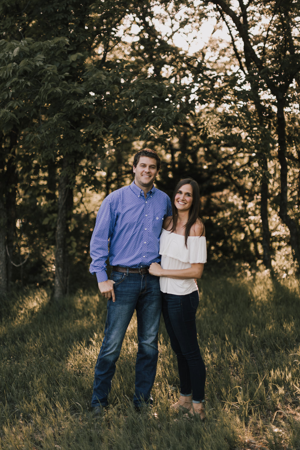 alyssa barletter photography shawnee mission park summer rustic done right engagement session-1.jpg