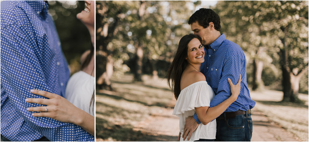 alyssa barletter photography shawnee mission park summer rustic done right engagement session-5.jpg