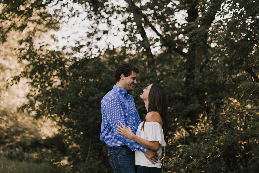 alyssa barletter photography shawnee mission park summer rustic done right engagement session-8.jpg