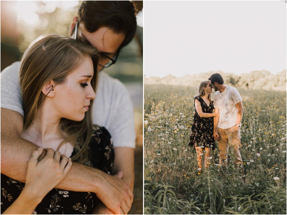 alyssa barletter photography shawnee mission park engagement session photographer summer flower fields-18.jpg