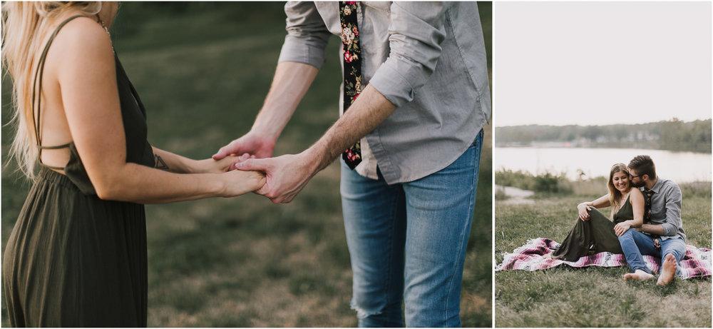 alyssa barletter photography shawnee mission park engagement session photographer summer flower fields-17.jpg