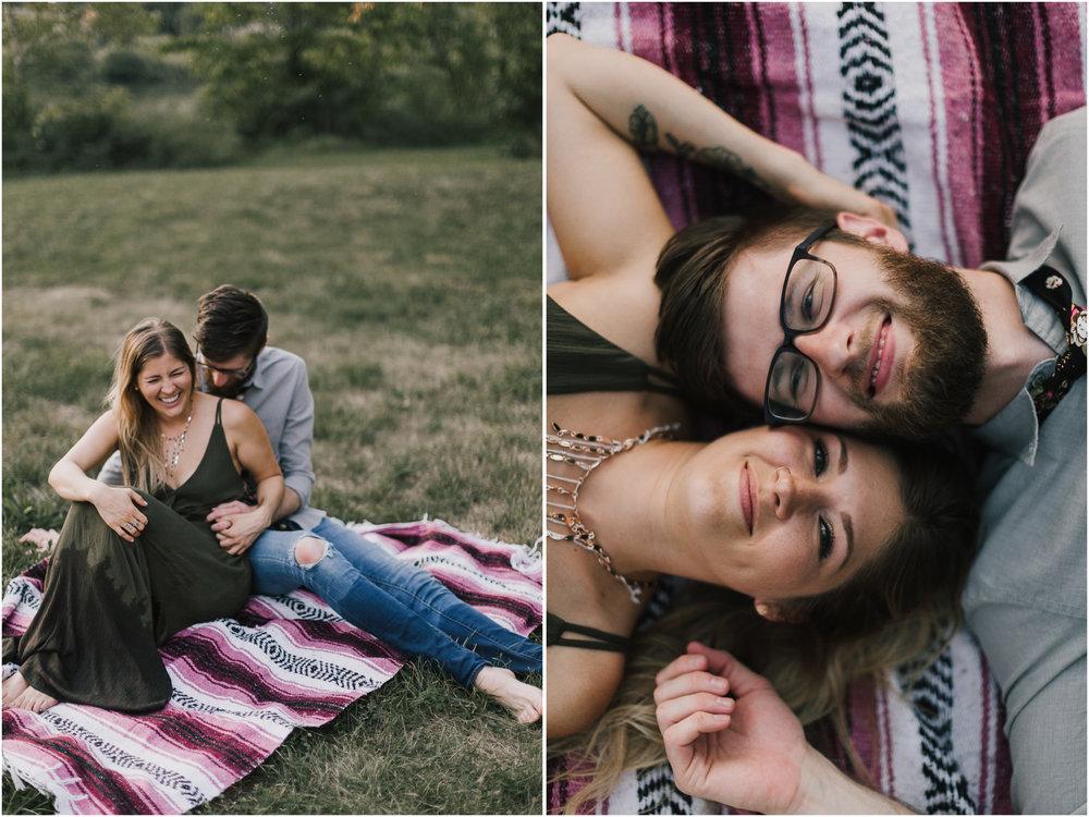 alyssa barletter photography shawnee mission park engagement session photographer summer flower fields-28.jpg