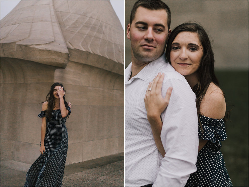 alyssa barletter photography emperial brewery engagement session downtown kansas city kc crossroads -20.jpg