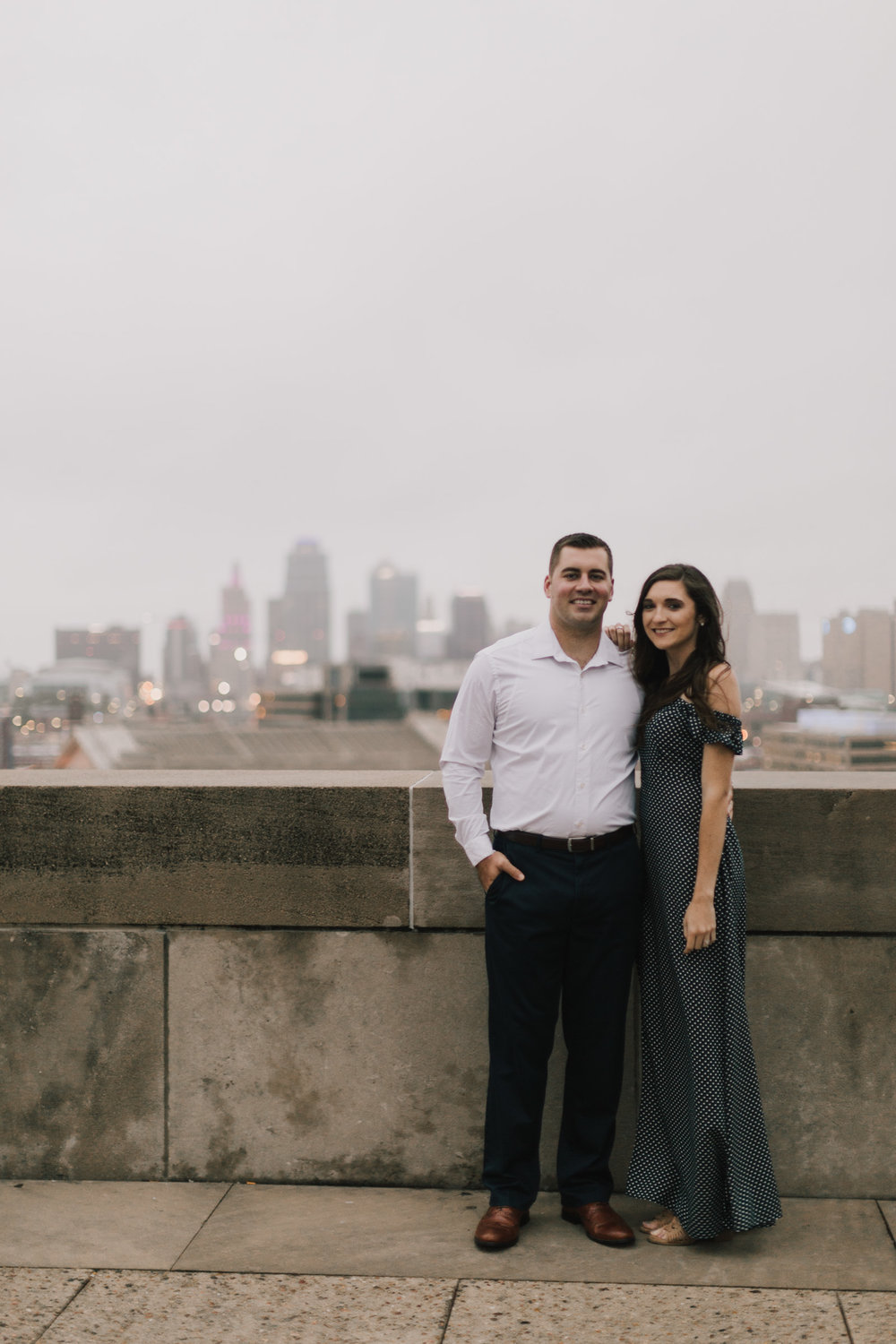 alyssa barletter photography emperial brewery engagement session downtown kansas city kc crossroads -22.jpg
