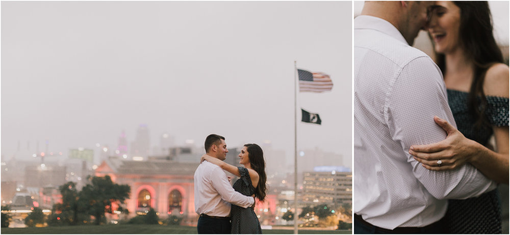 alyssa barletter photography emperial brewery engagement session downtown kansas city kc crossroads -26.jpg