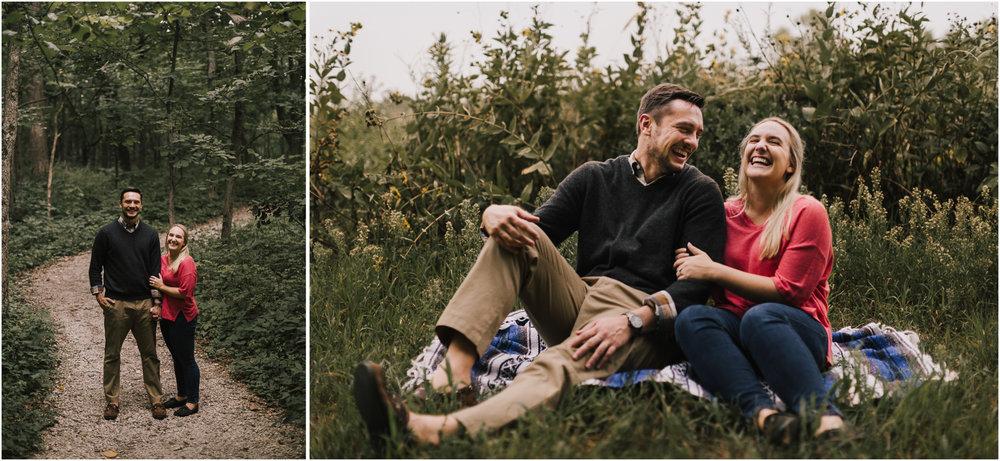 alyssa barletter photography burr oak nature center engagement session summer kansas city-5.jpg