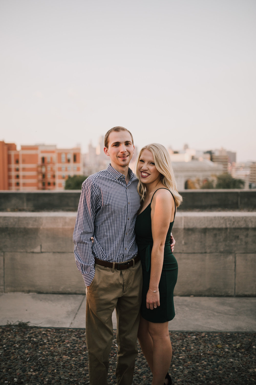 alyssa barletter photography nelson atkins art museum classic summer engagement session with dog-21.jpg