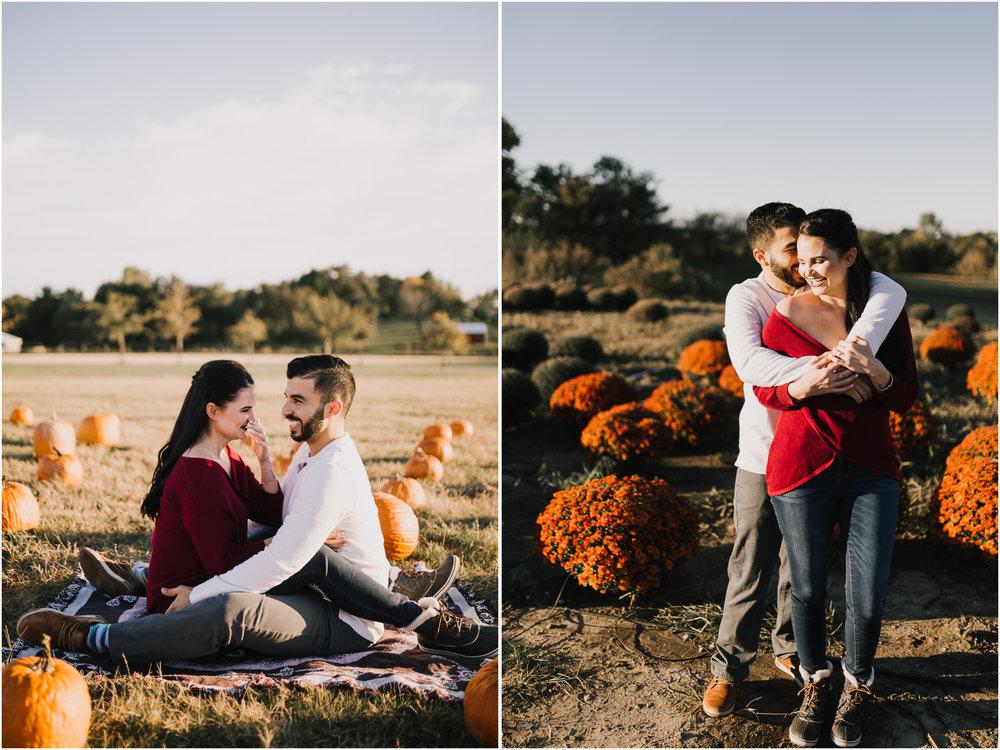 alyssa barletter photography fall pumpkin patch engagement photos sunset-6.jpg