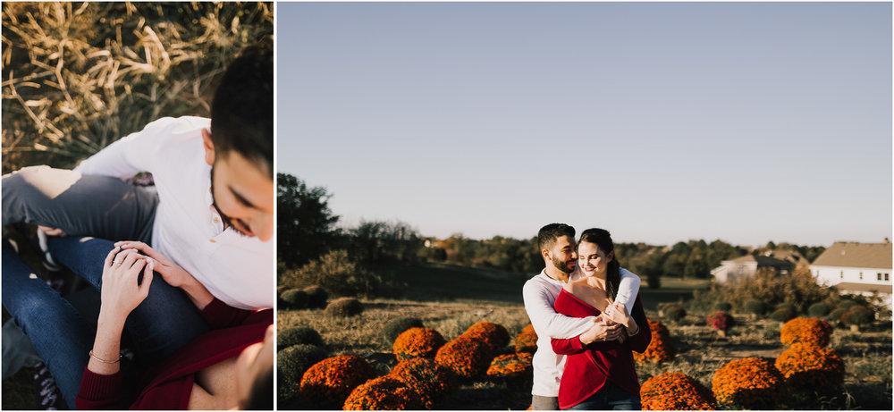 alyssa barletter photography fall pumpkin patch engagement photos sunset-8.jpg