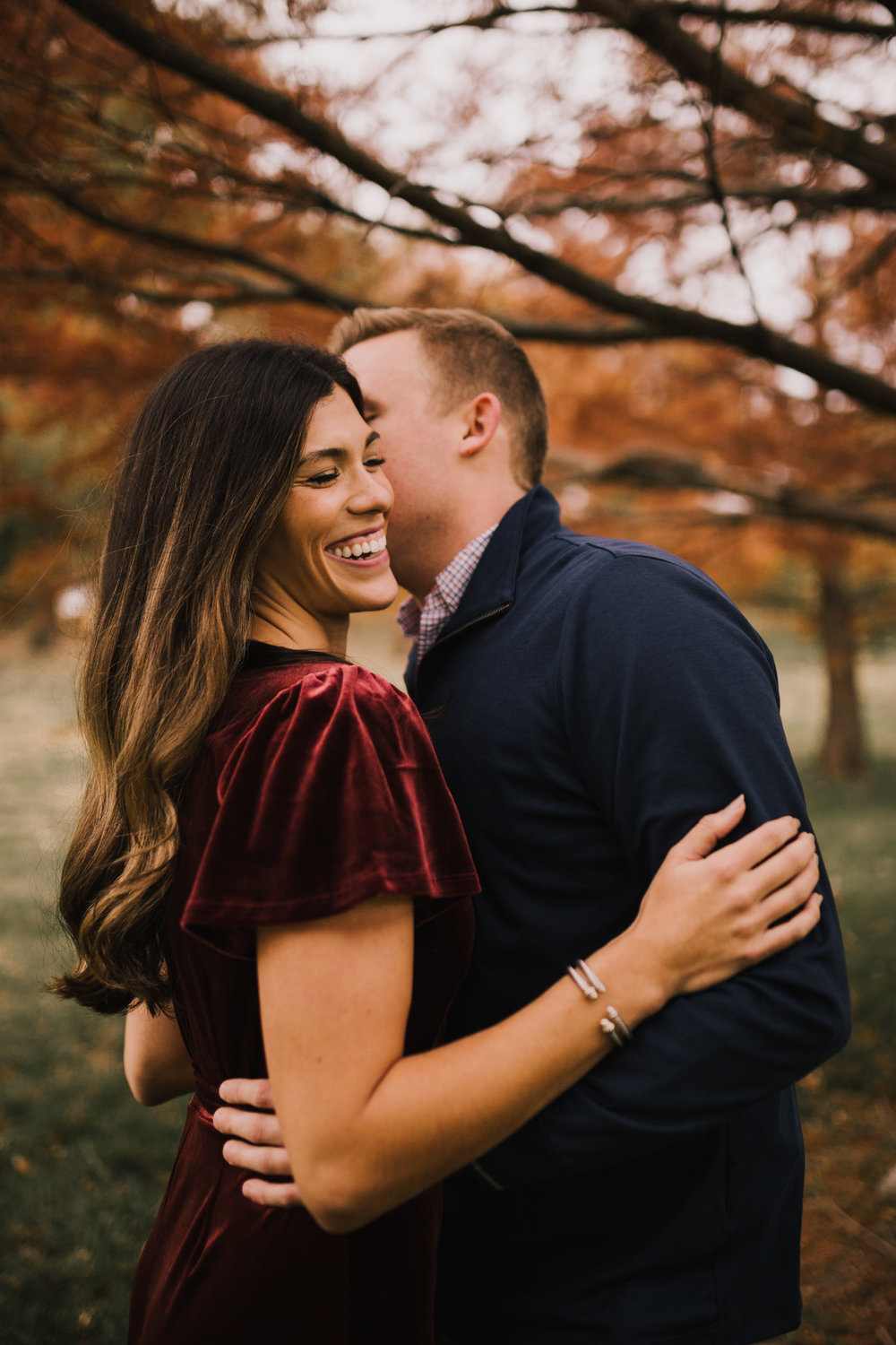 alyssa barletter photography loose park fall engagement photos autumn wedding photography-9.jpg
