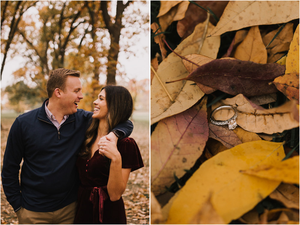 alyssa barletter photography loose park fall engagement photos autumn wedding photography-12.jpg