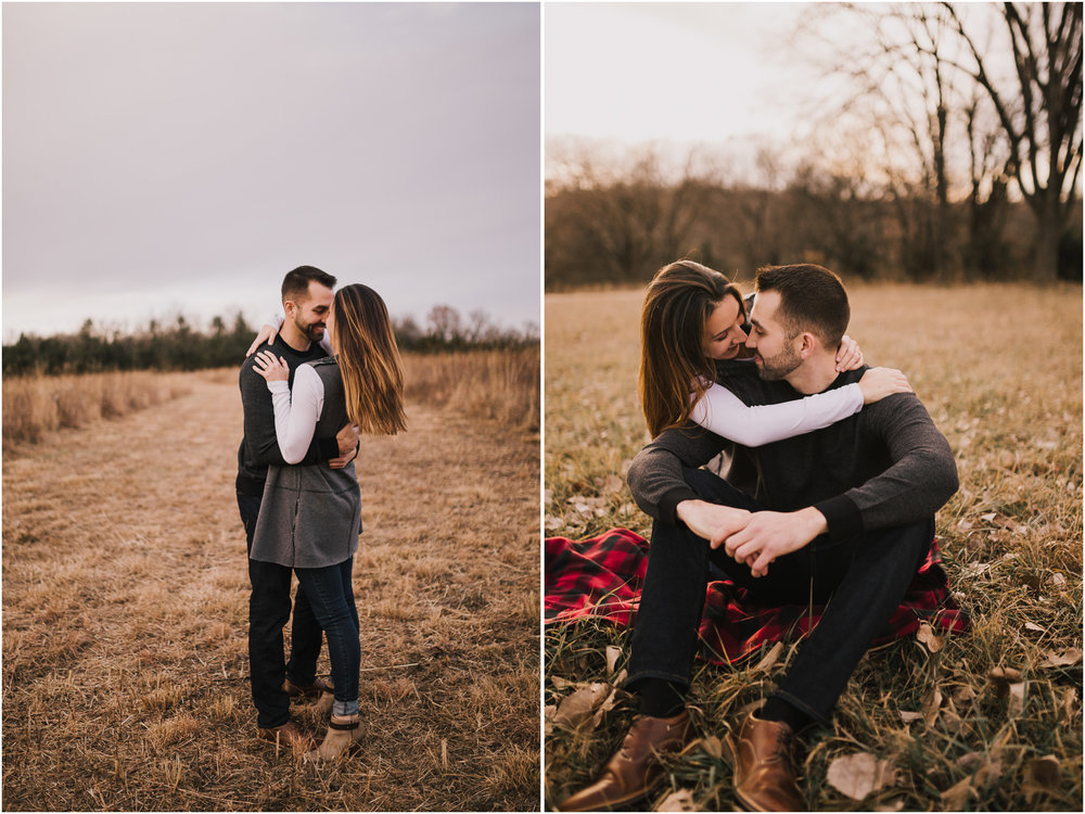 alyssa barletter photography shawnee mission park engagement session photographer fall winter photos field-14.jpg