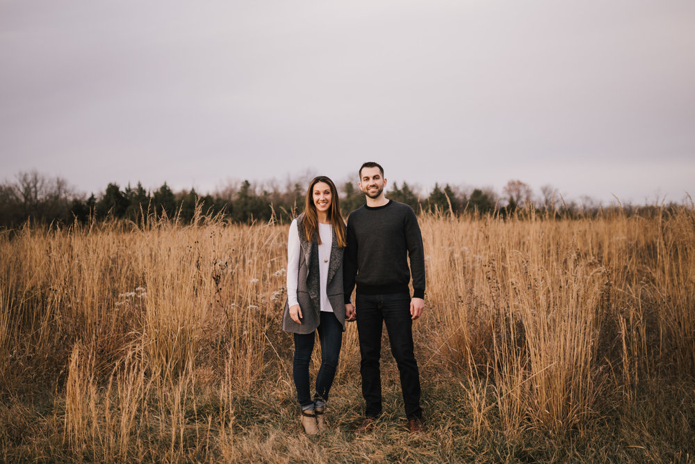 alyssa barletter photography shawnee mission park engagement session photographer fall winter photos field-17.jpg