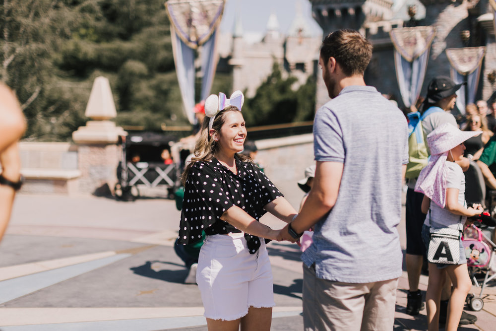 alyssa barletter photography disneyland california surprise proposal photographer cinderella castle-2.jpg