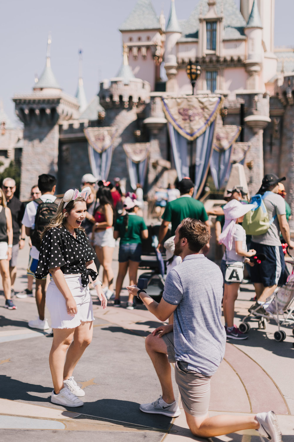 alyssa barletter photography disneyland california surprise proposal photographer cinderella castle-4.jpg