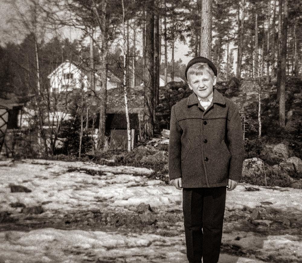 Min norrländska uppväxt. Foto: Lars Öhman