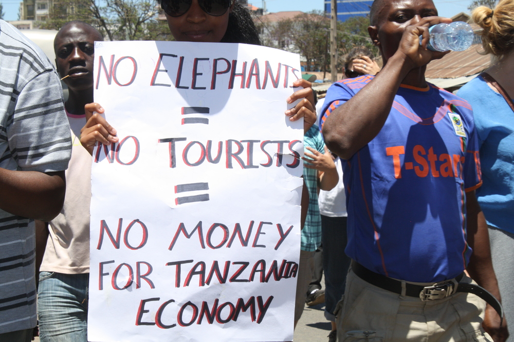 No elephants, no tourists, no money