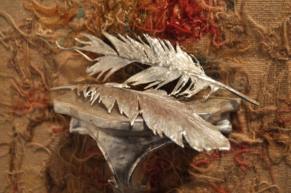 Untitled (feathers), detail