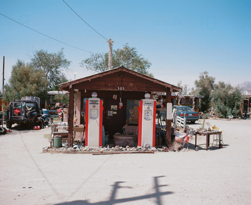 Gas Station. Keeler, CA. August 30, 2015.