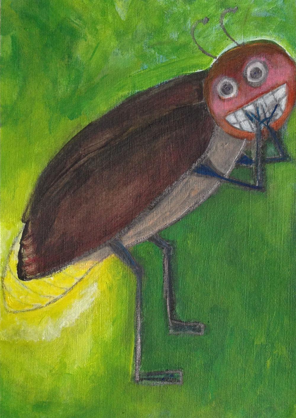 Embarrassed Lightning Bug