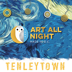 I will be exhibiting during  Art All Night Tenleytown      on Saturday, September 29th, 7pm - midnight!    Follow me on  Facebook  and  Instagram  for details...