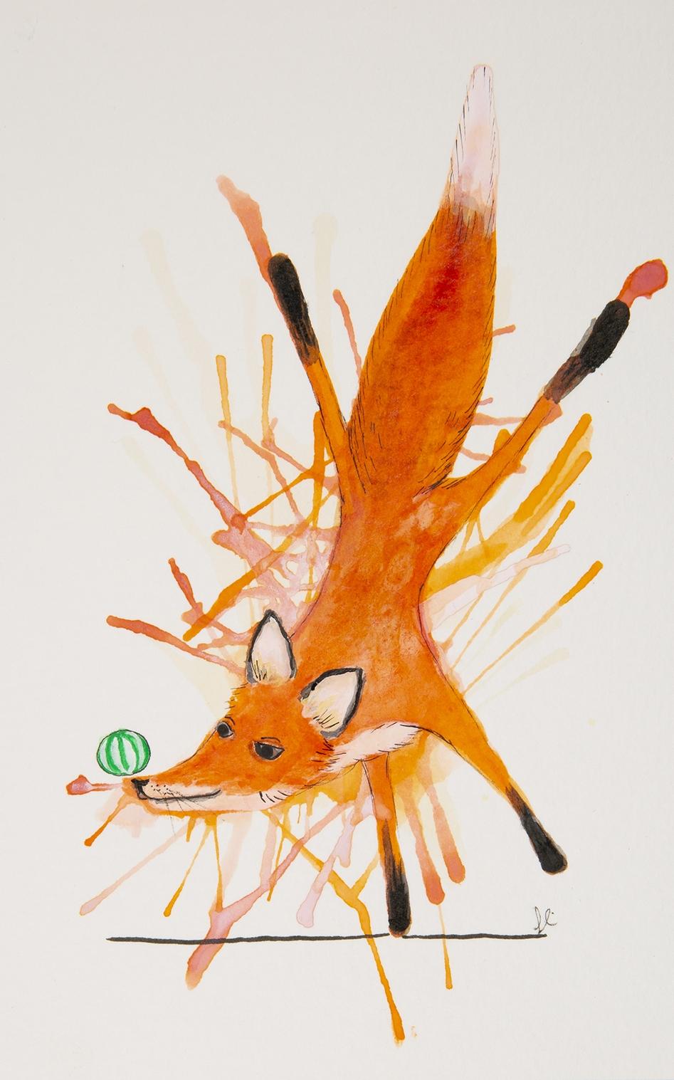 A Well Balanced Fox