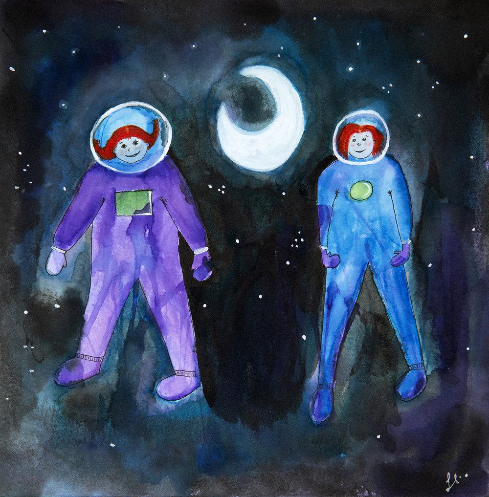 Astronaut Twins