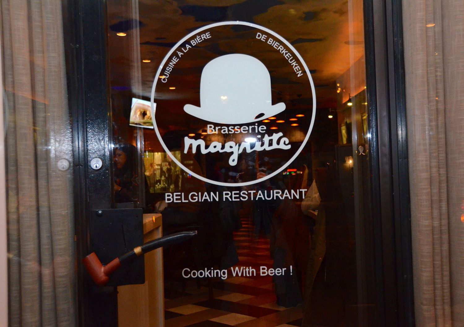Welcome to Brasserie Magritte