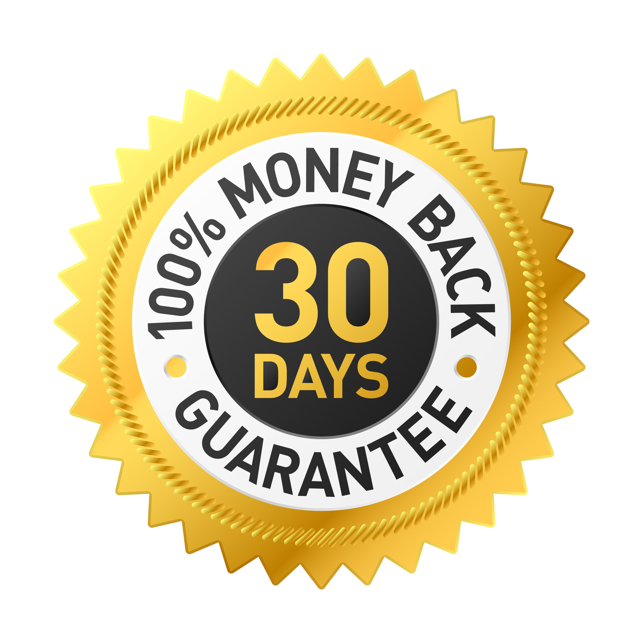 All our online programs come with a 30-day money back guarantee