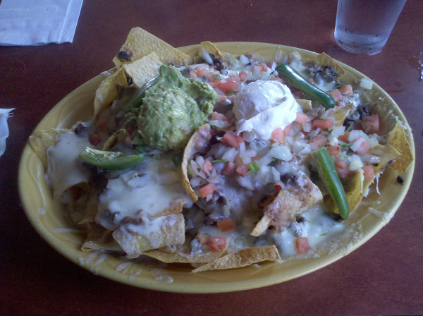 Cheese, Refried Beans, Pica de Gallo, Sour Cream, Guacamole, Jalapenos, Shredded Pork.