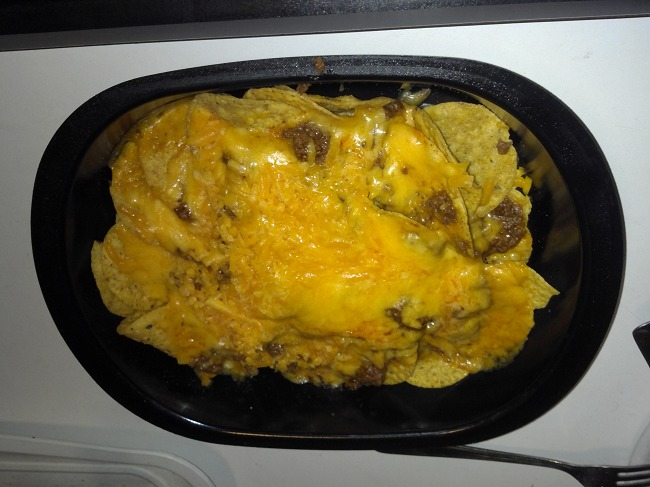 Taco Meat, Cheese.